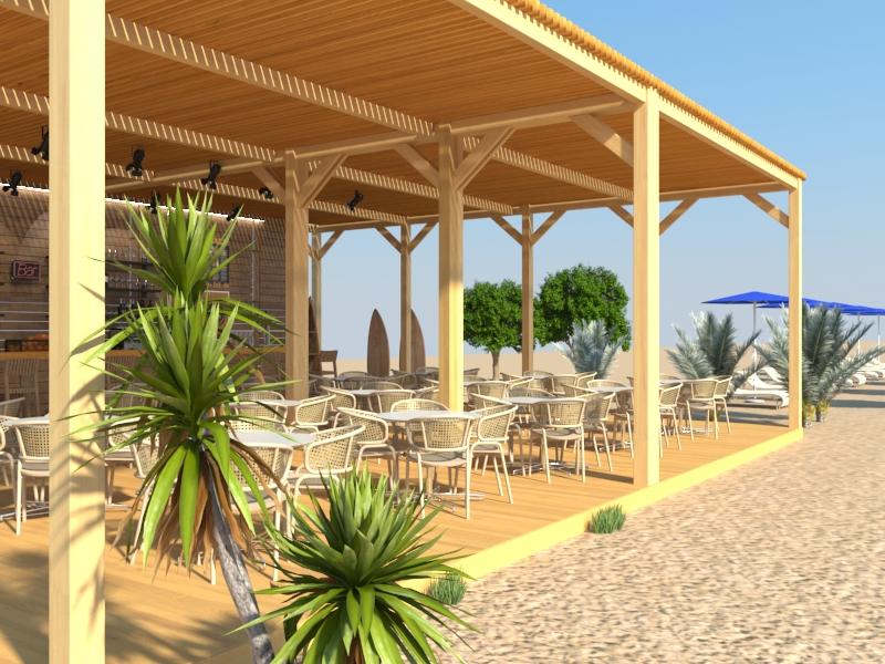 Дизайн-проект пляжного кафе