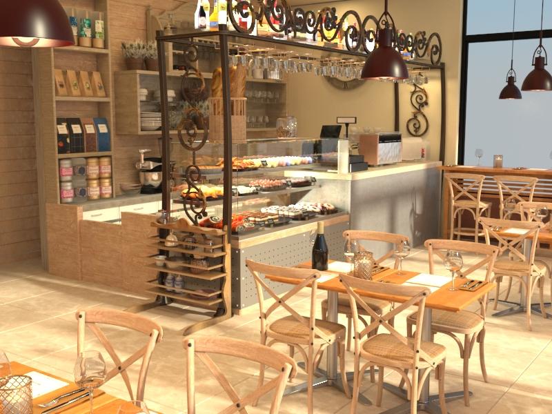 Дизайн-проект городского кафе
